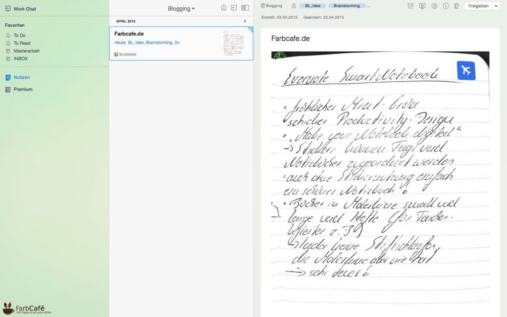 Evernote-Moleskine-Screenshot